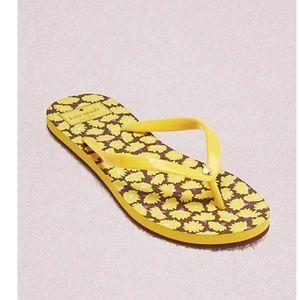 NWOB Kate Spade Women's Yellow Natal Sandals 10